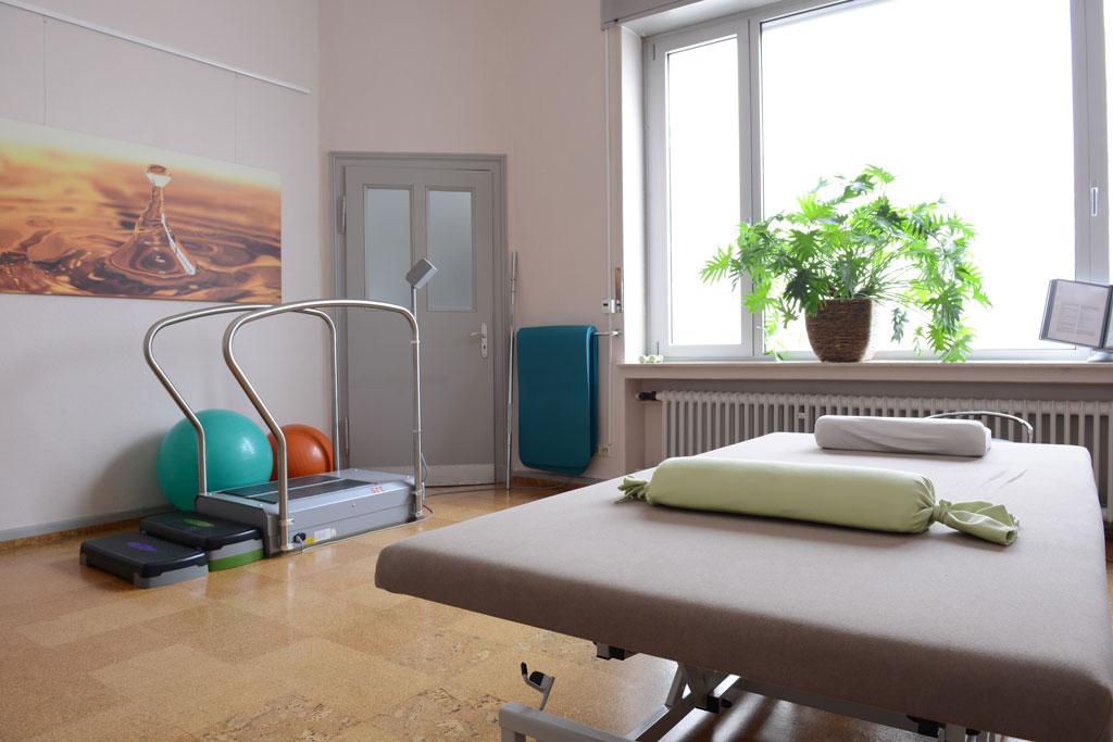 Physiotherapiepraxis Bielefeld Behandlungsraum - Andreas Kröker